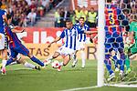 Deportivo Alaves's forward Deyverson Silva during Copa del Rey (King's Cup) Final between Deportivo Alaves and FC Barcelona at Vicente Calderon Stadium in Madrid, May 27, 2017. Spain.<br /> (ALTERPHOTOS/BorjaB.Hojas)