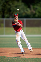 Masyn Winn (16) during the WWBA World Championship at the Roger Dean Complex on October 13, 2019 in Jupiter, Florida.  Masyn Winn attends Kingwood High School in Kingwood, TX and is committed to Arkansas.  (Mike Janes/Four Seam Images)