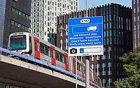 Nederland Rotterdam- 2020. Hoogbouw bij de Rijnhaven. Milieuzone.   Foto ANP / Hollandse Hoogte / Berlinda van Dam