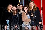 Katie Scott, Carina Ronan, Victoria Kelly, Laura McKenna and Fiona Rowe celebrating the New Year in Dingle.