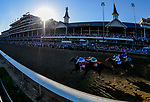 May 1, 2021 :Medina Spirit, trained by trainer Bob Baffert, with jockey John Velazquez up, wins the 147th running of the Kentucky Derby at Churchill Downs on May 1, 2021 in Louisville, Kentucky. /Scott Serio/Eclipse Sportswire/CSM