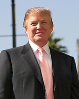 LOS ANGELES - JAN 16:  Donald J. Trump at the Donald J Trump Star Ceremony on the Hollywood Walk of Fame on January 16, 2007 in Los Angeles, CA