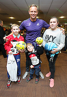 Pictured: Lee Trundle Tuesday 06 December 2016<br />Re: Swansea City FC Christmas Party at the Liberty Stadium, Wales, UK