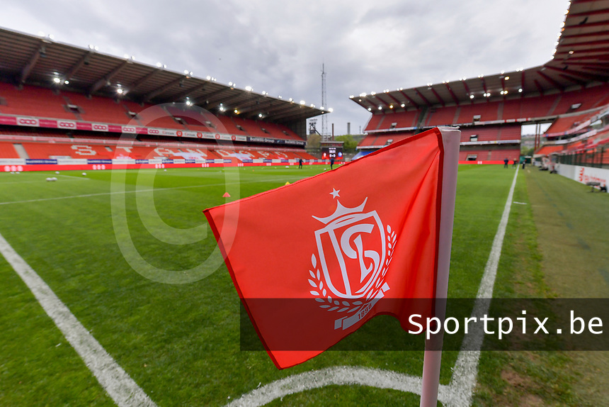 Stade Maurice Dufrasne - Sclessin pictured before a female soccer game between Standard Femina de Liege and AA Gent Ladies on the 6th matchday in play off 1 of the 2020 - 2021 season of Belgian Scooore Womens Super League , tuesday 11 th of May 2021  in Liege , Belgium . PHOTO SPORTPIX.BE | SPP | STIJN AUDOOREN
