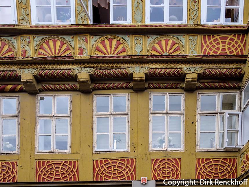 Burgstr. 12,  Ältestes Haus von Hannover, Niedersachsen, Deutschland, Europa<br /> 12 Burg St., oldest hpous in Hanover, Lower Saxony, Germany, Europe