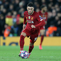 Liverpool's Alex Oxlade-Chamberlain<br /> <br /> Photographer Rich Linley/CameraSport<br /> <br /> UEFA Champions League Round of 16 Second Leg - Liverpool v Atletico Madrid - Wednesday 11th March 2020 - Anfield - Liverpool<br />  <br /> World Copyright © 2020 CameraSport. All rights reserved. 43 Linden Ave. Countesthorpe. Leicester. England. LE8 5PG - Tel: +44 (0) 116 277 4147 - admin@camerasport.com - www.camerasport.com