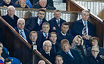 Pedro Caixinha with DoF Mark Allen and chairman Dave King
