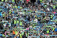 Seattle, Washington - Saturday, May 6, 2017:  Seattle Sounders FC vs Toronto FC. Final Score, Seattle Sounders FC 0, Toronto FC 1