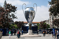 29th May 2021; Porto, Portugal;  UEFA Champions League football final, Chelsea FC versus manchester City;  City of Porto, Portugal, where the UEFA Champions League final will be played