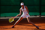 Russian tennis player Olesya Pervushina during Tennis Junior Fed Cup in Madrid, Spain. September 30, 2015. (ALTERPHOTOS/Victor Blanco)