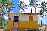 Casa na praia de Campina, municipio de Rio Tinto. Paraiba. 2015. Foto de Kleide Teixeira.