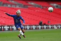 29th August 2020; Wembley Stadium, London, England; Community Shield Womens Final, Chelsea versus Manchester City; Ji So-yun of Chelsea Women crosses into the box