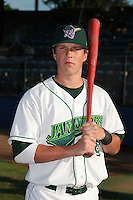 Jamestown Jammers Chris Coghlan poses for a photo before a NY-Penn League game at Russell Diethrick Park on August 11, 2006 in Jamestown, New York.  (Mike Janes/Four Seam Images)