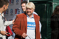 "Stanley Johnson (Boris Johnson father and supporter of ""Remain in the EU"" Campaign). <br />