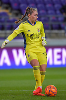 Benfica's goalkeeper Carolina Dias - Carolina Vilao (39)  pictured during a female soccer game between RSC Anderlecht Dames and Portugese Benfica Ladies  in the second qualifying round for the Uefa Womens Champions League of the 2020 - 2021 season , Wednesday 18 th of November 2020  in ANDERLECHT , Belgium . PHOTO SPORTPIX.BE | SPP | STIJN AUDOOREN