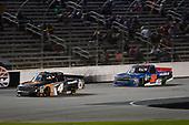#4: Todd Gilliland, Kyle Busch Motorsports, Toyota Tundra JBL/SiriusXM, #52: Stewart Friesen, Halmar Friesen Racing, Chevrolet Silverado We Build America