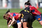 NELSON, NEW ZEALAND - SEPTEMBER 12: Farah Palmer Cup- Mako v Wellington Saturday 12 September  2020 , Lansdowne Park Blenheim New Zealand. (Photo by Shuttersport Limited)