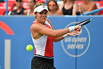 August 1,2019:  Catherine McNally (USA) defeated Christina McHale 6-3, 1-6, 6-3, at the CitiOpen being played at Rock Creek Park Tennis Center in Washington, DC, .  ©Leslie Billman/Tennisclix