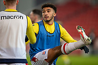 29th December 2020; Bet365 Stadium, Stoke, Staffordshire, England; English Football League Championship Football, Stoke City versus Nottingham Forest; Jacob Brown of Stoke City during warm up