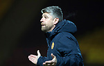 Motherwell v St Johnstone…06.02.18…  Fir Park…  SPFL<br />Motherwell manager Stephen Robinson<br />Picture by Graeme Hart. <br />Copyright Perthshire Picture Agency<br />Tel: 01738 623350  Mobile: 07990 594431