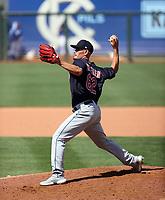 Nick Wittgren - Cleveland Indians 2021 spring training (Bill Mitchell)