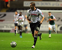 ATTENTION SPORTS PICTURE DESK<br /> Pictured: Lee Trundle of Swansea<br /> Re: Coca Cola Championship, Swansea City Football Club v Plymouth Argyle at the Liberty Stadium, Swansea, south Wales. Tuesday 08 December 2009