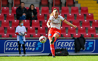 Essevee's Lotte De Wilde pictured during a female soccer game between Zulte Waregem and the KAA Gent Ladies on the fourth matchday of the 2020 - 2021 season of Belgian Scooore Womens Super League , saturday 10 October 2020  in Waregem , Belgium . PHOTO SPORTPIX.BE | SPP | DAVID CATRY
