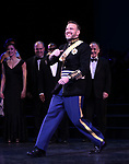 """Ben Davis during the Curtain Call for the closing Night performance of  Encores! """"Call Me Madam"""" at City Center on February 10, 2019 in New York City."""
