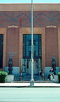 Visalia CA: U.S. Post Office, 1932. Elevation.