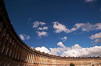 The Royal Crescent, Bath, England.
