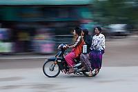 Motorcycle in Old Bagan
