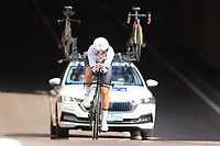 9th September 2021; Trento, Trentino–Alto Adige, Italy: 2021 UEC Road European Cycling Championships, Womens Individual time trials:  Lisa Brennauer (Germany) finished 3rd in race