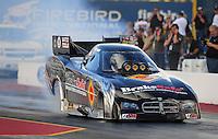 Jan 24, 2009; Chandler, AZ, USA; NHRA funny car driver Matt Hagan during testing at the National Time Trials at Firebird International Raceway. Mandatory Credit: Mark J. Rebilas-