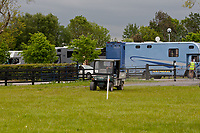 """""""SCOOTING AROUND IN STYLE"""" 2012 IRL-Tattersalls International Horse Trial: Tuesday Arrival Day"""