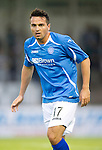 St Johnstone FC....Season 2011-12.Sean Higgins.Picture by Graeme Hart..Copyright Perthshire Picture Agency.Tel: 01738 623350  Mobile: 07990 594431