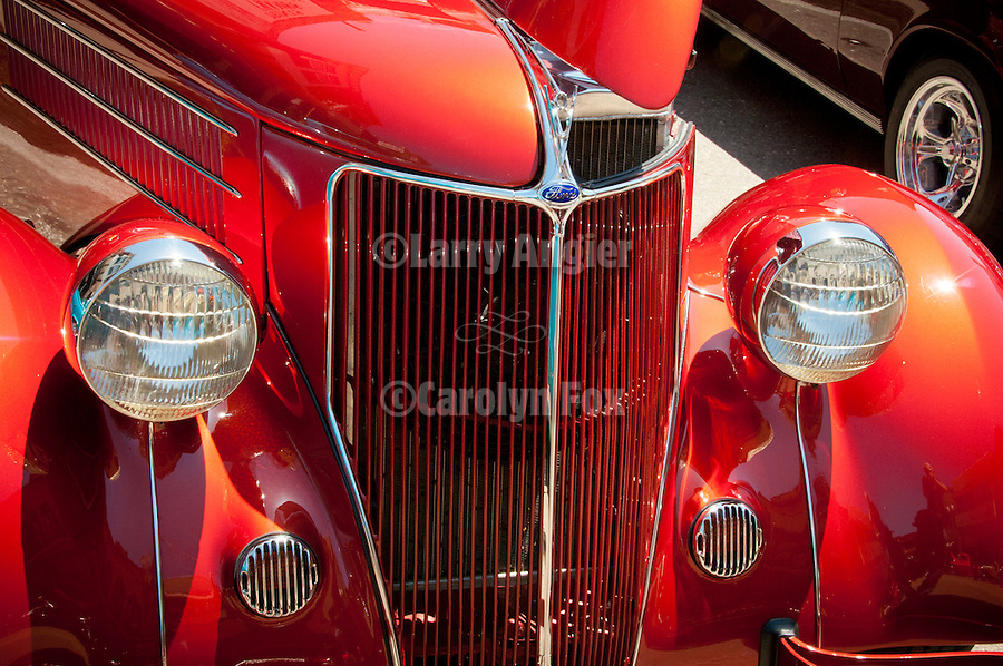1st Mother Lode Cruise downtown Jackson featuring classic cars from the 1970s and before.