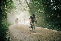heavy gravel<br /> <br /> 3rd Dwars Door Het hageland 2018 (BEL)<br /> 1 day race:  Aarschot > Diest: 198km