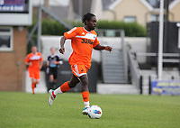 Pictured: Nathan Dyer of Swansea. Saturday 17 July 2011<br /> Re: Pre season friendly, Neath Football Club v Swansea City FC at the Gnoll ground, Neath, south Wales.