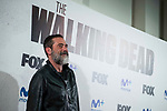 """Jeffrey Dean Morgan attends to an event with fans of """"The Walking Dead"""" at Cines Capitol in Madrid. March 09, 2017. (ALTERPHOTOS/Borja B.Hojas)"""