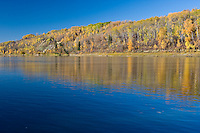 Fall Morning along the North Saskatchewan River Valley in Edmonton