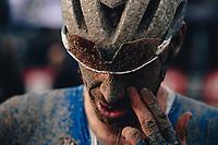3rd October 2021, Paris–Roubaix Mens Cycling tour;  Tim Declercq during the Paris–Roubaix which is famous for its uneven cobblestone course.