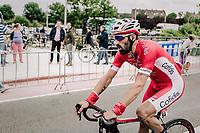 Geoffrey Soupe (FRA/Cofidis) post race. <br /> <br /> <br /> 2nd Elfstedenronde 2018<br /> 1 day race: Brugge - Brugge 196.3km