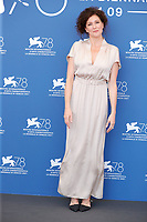 """VENICE, ITALY - SEPTEMBER 09: Ksenija Aleksandrovna Rappoport attends the photocall of """"Mama, I'm Home"""" during the 78th Venice International Film Festival on September 09, 2021 in Venice, Italy. <br /> CAP/GOL<br /> ©GOL/Capital Pictures"""
