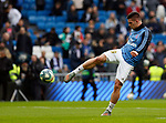Real Madrid CF's Luka Jovic  warms up before the Spanish La Liga match round 20 between Real Madrid and Granada CF at Santiago Bernabeu Stadium in Madrid, Spain