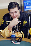 Phil Hellmuth competes in a No Limit Hold-em event.