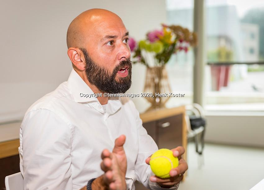 Amstelveen, Netherlands, 29 September, 2020, National Tennis Center, NTC, KNLTB Managing board, Director of services Robert Jan Schumacher.<br /> Photo: Henk Koster/tennisimages.com