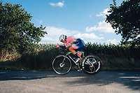 6th October 2021 Womens Cycling Tour, Stage 3. Individual Time Trial; Atherstone to Atherstone. Elisa Balsamo.