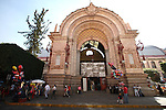 Fronto view of the entrance of the market in Guanajuato city, February 13, 2008. Photo by Heriberto Rodriguez