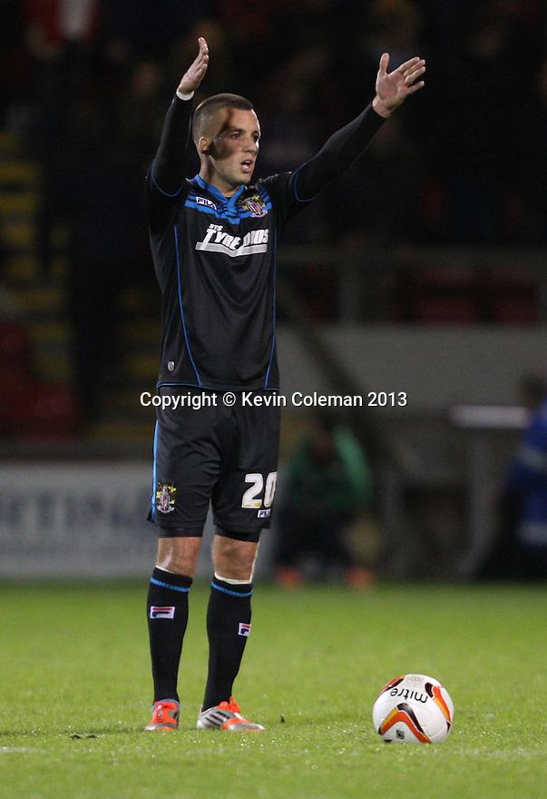Jimmy Smith of Stevenage<br />  - Crewe Alexandra v Stevenage - Sky Bet League One - Alexandra Stadium, Gresty Road, Crewe - 22nd October 2013. <br /> © Kevin Coleman 2013<br />  <br />  <br />  <br />  <br />  <br />  <br />  <br />  <br />  <br />  <br />  <br />  <br />  <br />  <br />  <br />  <br />  <br />  <br />  <br />  <br />  <br />  <br />  <br />  <br />  <br />  <br />  <br />  <br />  <br />  <br />  <br />  <br />  <br />  <br />  <br />  - Crewe Alexandra v Stevenage - Sky Bet League One - Alexandra Stadium, Gresty Road, Crewe - 22nd October 2013. <br /> © Kevin Coleman 2013