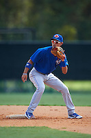 Toronto Blue Jays Kevin Vicuna (53) during practice before an instructional league game against the Atlanta Braves on September 30, 2015 at the ESPN Wide World of Sports Complex in Orlando, Florida.  (Mike Janes/Four Seam Images)